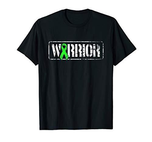 Non Hodgkins Lymphoma Warrior - Grünes Band im Militärstil T-Shirt