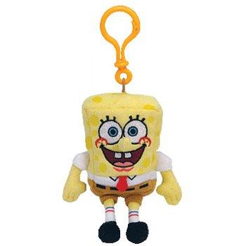 TY Beanie Baby - SPONGEBOB SQUAREPANTS ( Plastic Key Clip ) by Ty (Babys Bob Sponge Beanie)