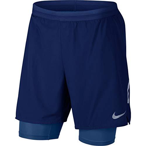 Nike M NK FLX Stride 2IN1 Short 7IN Herren-Shorts, Mehrfarbig (Blue Void/Blue Void) L Blau (Blue Void/Blue Void)