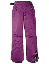 Pantalones de esquí para mujer Talla 42Color: Lila Pantalones para la nieve invierno Pantalones de esquí Wear Funcional Para la pista
