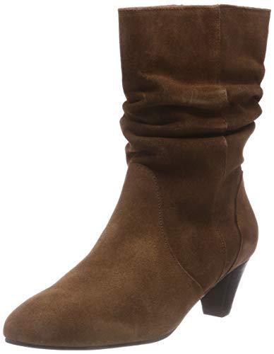 Buffalo Damen WENDOY ANTE Hohe Stiefel, Beige (Taupe 86 00), 39 EU