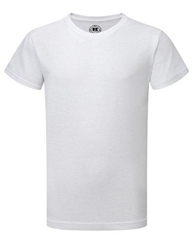 Russell Athletic -  T-shirt - ragazzo bianco 12