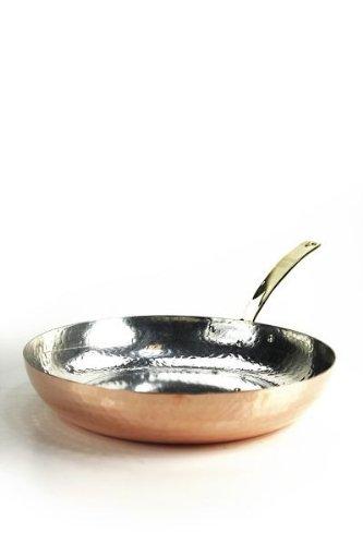 CopperGarden® Kupferpfanne mit Stiel ❁ 28 cm Durchmesser ❁ Pfanne aus Kupfer …