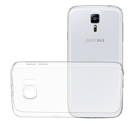 Oats® Coque - Samsung Galaxy S6 0,3 mm Etui Crystal Clear Housse de Protection Case Cover Bumper Silicon TPU transparente - de OKCS