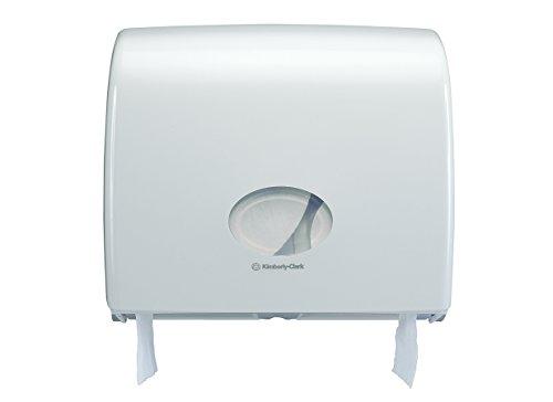 Aquarius 6991 Jumbo Dispenser di Carta Igienica in Rotolo, Bianco