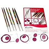 Knit Pro Symfonie Wood Circular Needle Interchangeable Starter Set by Knit Pro