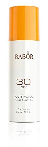 BABOR High Protection Sun Lotion SPF 30, leichte, schnell einziehende Sonnenschutzlotion für Gesicht und Körper, auch für Kinder, 200ml - Lotion Körper Spf 30
