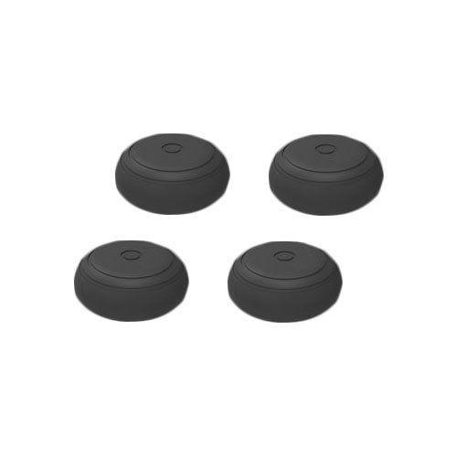 Chickwin Aufsätze Thumb Grip Stick Kappe CAPS Grips für Nintendo Switch Joy-Con Controller (Schwarz 4pc) (Collector Card Display Case)