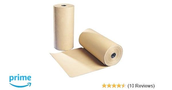 Kraft Brown Paper Roll 600mm x 250m 70gsm Fragile Item Wrapper Parcels Packaging