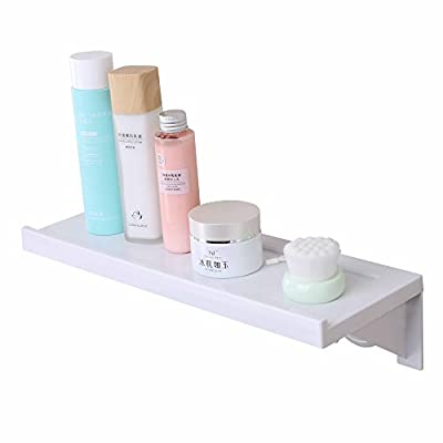 Easy & Eco Life Shelf Kit Organizer-Bathroom Kitchen Wall Mounting-Adhesive Vaccum Suction Strong Hold Removable Reusable - low-cost UK light shop.