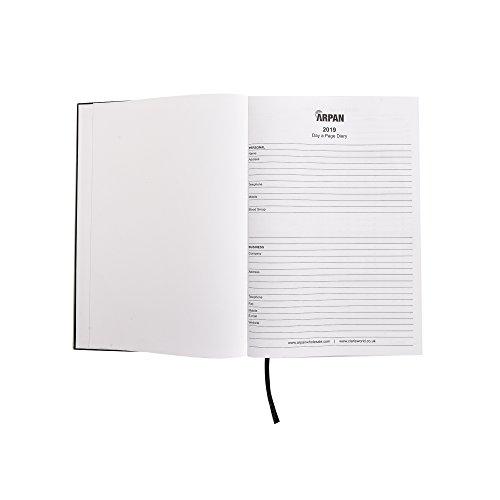 Arpan, Tagebuch für 2018, A4, 1 Tag pro Seite A4 Black - 2019 - Bild 9