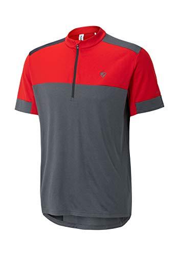 Ziener Herren CADEEM man (tricot) Fahrradtrikot/Radtrikot - Mountainbike/Rennrad - atmungsaktiv|schnelltrocknend|elastisch|funktionell