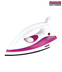 Padmini Fury 750-Watt Dry Iron (White)