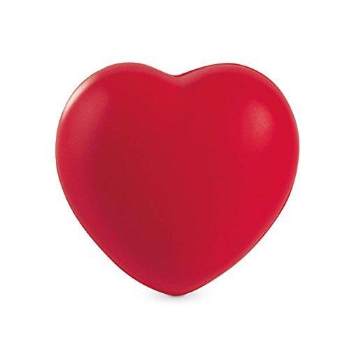 elfer Ball Squeezy Toy Handübung - ideal für Linderung von Stress und Anspannung (rotes Herz) ()