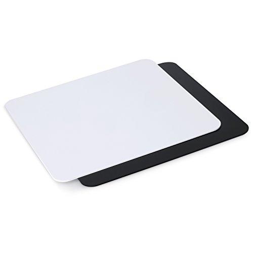 Neewer®. Tabla para exposición de 30x 30cm. Hecha de acrílico, para fotografiar Productos (Colores Negro y Blanco)
