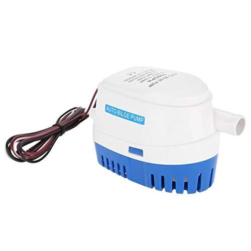 chunyang 12V 750 GPH Bilgenpumpe für Boote Yacht Automatische elektrische Tauchwasserpumpe Zündschutz -