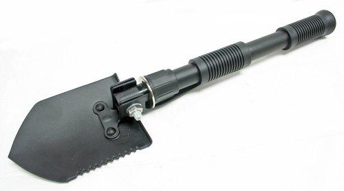 Hawk TC810 Mini Pliante Pelle, détachable Noir