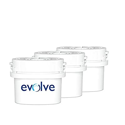 Aqua Optima Evolve 30 day Water Filter Fits Brita Maxtra - Parent ASIN
