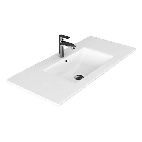 VILSTEIN© lavabo ad incasso in ceramica, Bianco