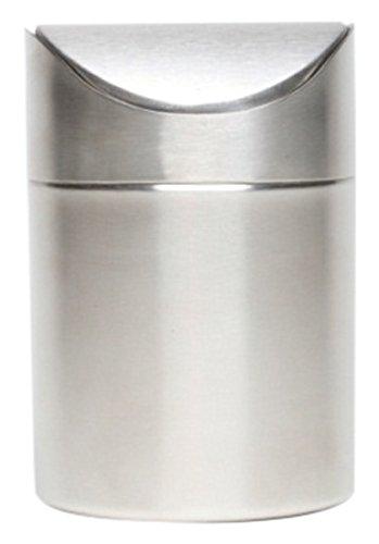 Genware nev-tabin-1611Edelstahl Tisch Bin, 16,5cm hoch x 11,5cm Durchmesser