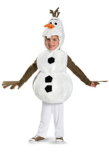 Frozen Disney Deluxe Olaf Child Toddler (Kostüm Olaf Babys Für)