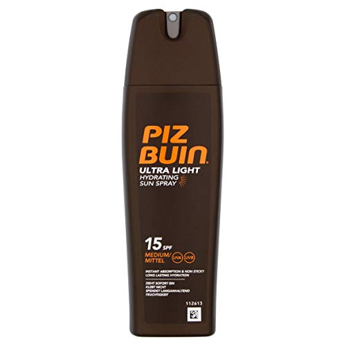 Piz Buin in Sun Ultra Light Sun Spray SPF 15 Medium 200ml