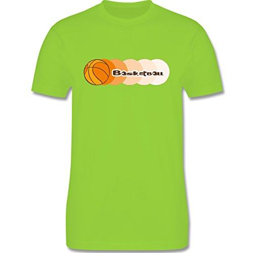 Basketball - Basketball - Herren Premium T-Shirt Hellgrün