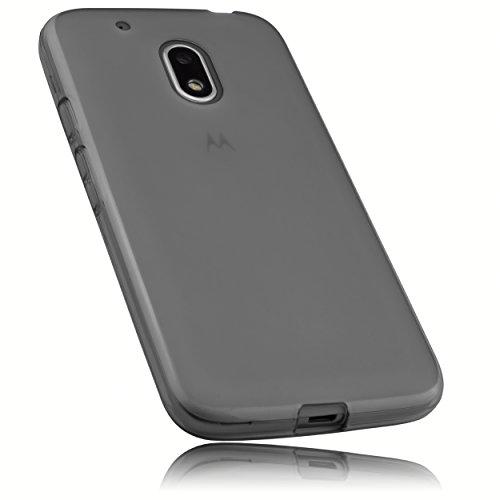 mumbi Schutzhülle für Lenovo Moto G4 Play Hülle transparent schwarz