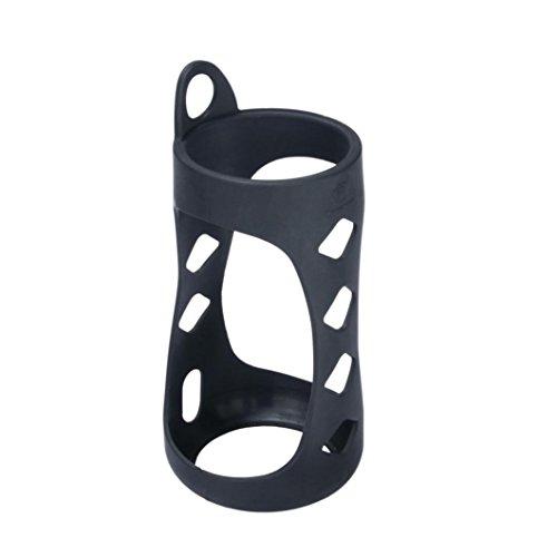Silikon Schutzhülle Tasche für Bose SoundLink Revolve Bluetooth Speaker Bluetooth Lautsprecher Carry Case Cover (Black)