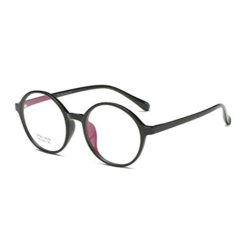 Brillengestelle Retro TR90 superleichter Brillenfassung Ohne Stärke Nerd Brille Unisex Clear Lens Glasses Brillen Fashion
