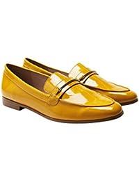 Meijili - plataforma mujer , color Amarillo, talla 35.5