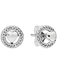 6fd53901f Pandora Forever PANDORA Hearts Stud Earrings 297709CZ