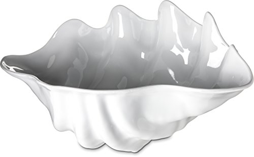 Clam-Shell-, 5Quarts, groß, weiß (0344-02) Kategorie: Buffet und Servieren Schalen und Muscheln - 5 Quart-schalen