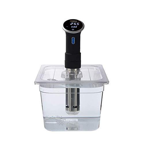 Sous Vide Behälter aus Polycarbonat, 11,6 l, mit passendem Deckel für Anova Sous Vide Herd