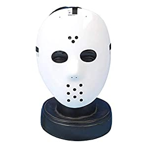 Gifts 4 All Occasions Limited SHATCHI-1149 Shatchi-White Hockey Jason vs Freddy Máscara de Halloween Carnaval Party Masquerade Fancy Dress Fun