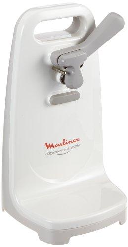Moulinex DJJ152, 50 W, Blanco - Abrelatas