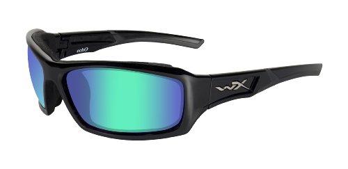 Wiley X Schutzbrille Wx Echo, Glänzend Schwarz, M-L, CCECH04