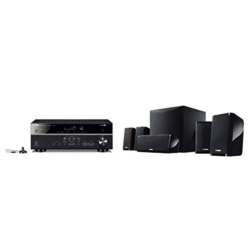Yamaha YHT-3072-IN 5.1 Home Theatre System (Dolby Audio, DTS-HD, Bluetooth, USB, 4K, 8 Inch Active Sub, Fm, HDCP 2.2)