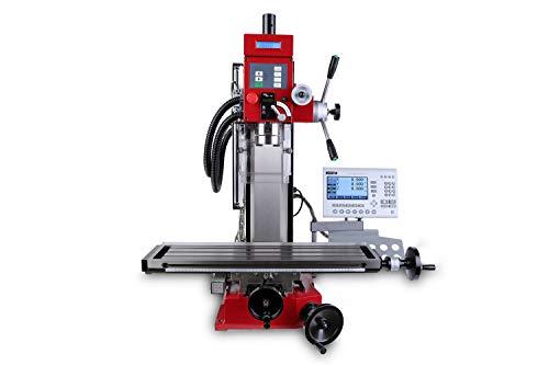 PAULIMOT Bohr-/Fräsmaschine SIEG SX3L mit bürstenlosem Motor, Gewindeschneid-Funktion und Messsystem