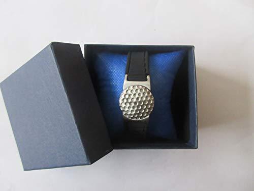 Power Golf Armband Titan magnetisch Schwarz/Weiß mit
