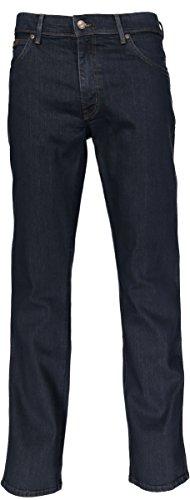 Wrangler Texas Stretch-Jeans, Herren, W38/L30, Dunkelblau (Herren Wrangler Stretch-jeans)