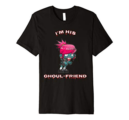 Halloween Paar TShirt: I 'm his ghoul-friend Freundin -