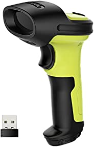 Inateck Wireless Barcode Scanner, 2600mAh Battery, 35m Range, Automatic Fast and Precise scanning, BCST-60