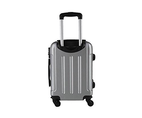 Maleta cabina 50 cm. 4 ruedas trolley cascara dura adecuadas para vuelos de bajo coste