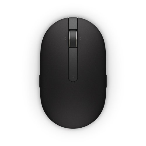 Dell WM326 570-aami – Maus Wireless Laser 1600DPI, Ambidextrös, Schwarz (Dell Computer-maus Wireless)