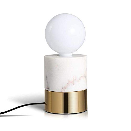 Schreibtisch Lampenstufe Büro Modern Simple Living Room Bedroom Mini Small Bedside Lamp Plating Brass Wrought Iron Base Table Lamp Lamp With Button Switch - Iron-base Tischleuchte