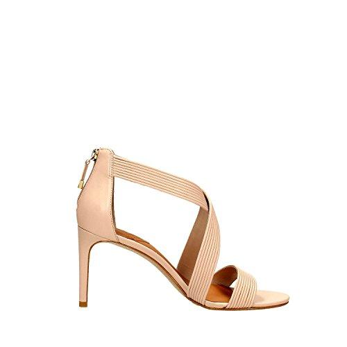 What For 208 Sandalo Alto Donna Pelle Beige Beige 36 Beige
