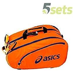 Asics 114574-0521 Bolsa de Pádel, Unisex Adulto, Naranja (Shocking Orange), Talla Única