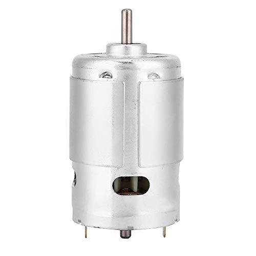Aufee Gleichstrommotor, geräuscharmes Hochleistungs-Miniatur-Doppelkugellager mit 12 V und 3000 U/min, Unterstützung positiver und negativer Rotation, für Schneidemaschinen, Handbohrmaschinen usw. - Dc-poliermaschine