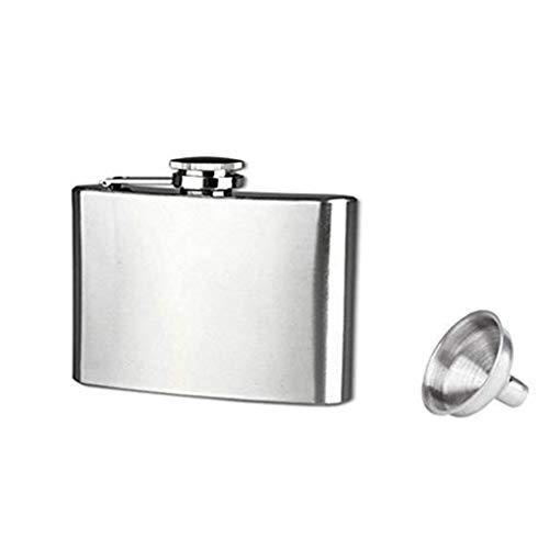 Aiming Tragbare Mini-Hip Flask 4 5 6 7 8 9 10 18 Unzen Edelstahl-Hüfte-Alkohol-Spiritus-Flasche Kolben mit Cap Funnel -